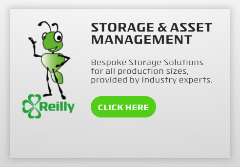 Storage and Asset Management. Bespoke Storage Solutions for all production sizes, provided by industry experts.